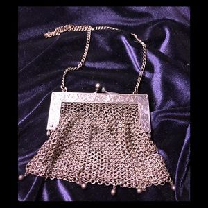 Vintage German Silver Pocketbook